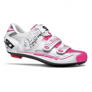 Sidi Genius 7 Woman Road Bike Shoes White Pink