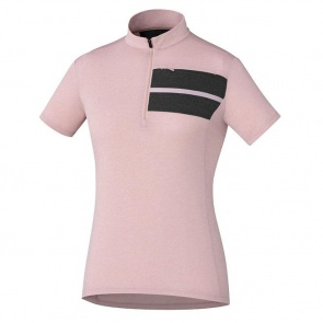 Shimano Transit Womens Jersey Short Sleeves Soft Purple