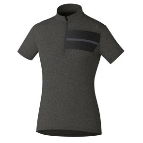 Shimano Transit Womens Jersey Short Sleeves Raven Gray