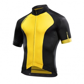 Mavic Cosmic Elite Jersey - Yellow Mavic/Black