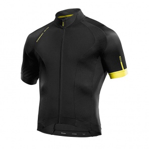 Mavic Short Sleeve Jersey Cosmic Elite Black