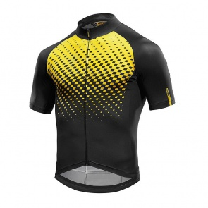 Mavic Cosmic Graphic Jersey - Yellow Mavic/Black