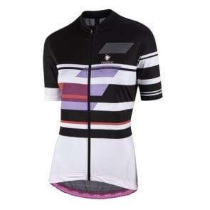Nalini Pro Dolomiti Lady Jersey - Black/White 4008
