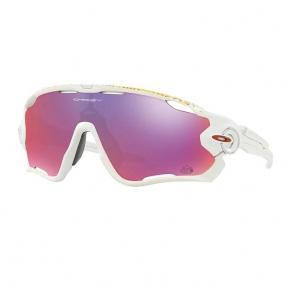 Oakley Jawbreaker/Matte White-Prizm Sunglasses Road