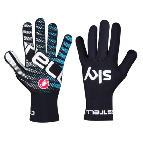 Castelli Team Sky Diluvio Gloves Black