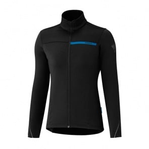 Shimano Thermal Long Sleeve Women's Winter Jersey Black