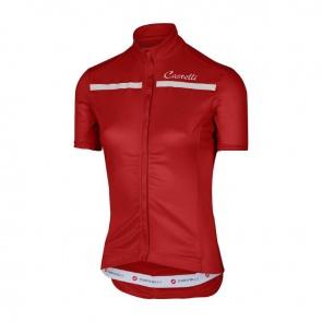 Castelli Women's Imprevisto Jersey Red White