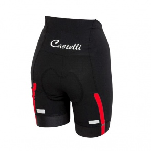 Castelli Velocissima Women's Short Black/ Red