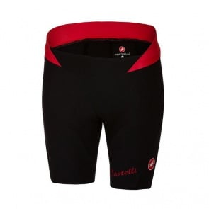 Castelli Women's Bellissima Short Black/ Red