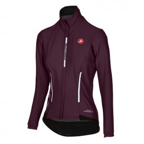 Castelli Perfetto Women Long Sleeve Jersey Wine Red