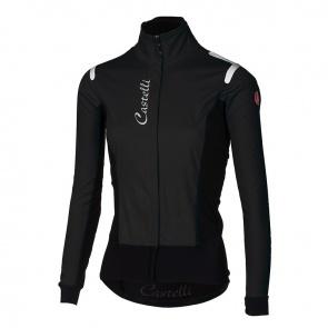 Castelli Alpha Ros Women Jacket Light Black