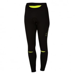 Castelli Chic Tight Women Black Lime