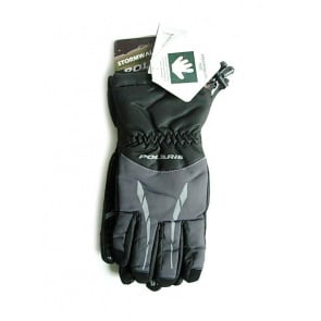 Polaris Stormwall winter gloves black gray