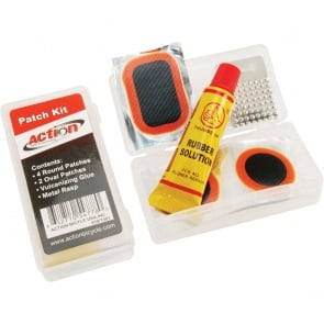 Action Small Each Patch Kit Bicycle Puncture Repair