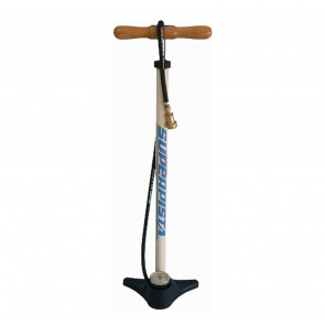 SILCA SUPER PISTA FLOOR PUMP P/V-S/V WHITE