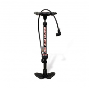 PLANET BIKE STX FLOOR PUMP STEEL BLACK