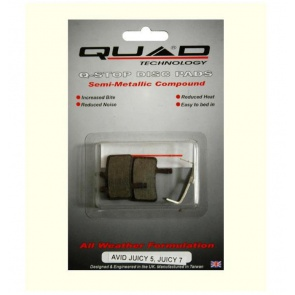 Quad Avid Juicy 7 QDP-35 Disc Brake Pad Shoe