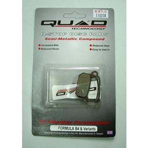 Quad Formula B4 Pads QDP-17 Disc Brake Shoes