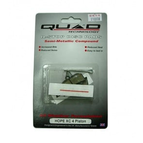 Quad Hope XC 4 Piston Disc Brake Pads Shoes QDP-31