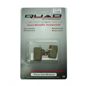 Quad Shimano Deore 525 Disc Brake Pads Shoes QDP-14