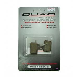 Quad Shimano Deore 525 Disc Brake Pads Shoes QDP-14