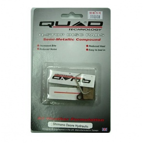 Quad Shimano Deore 555 Disc Brake Pads Shoes QDP-13