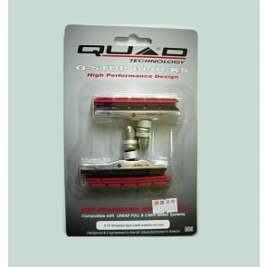 Quad V-Brake XTR Theraded Type Cartridge Pads Shoes