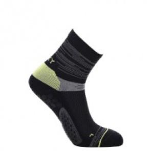 Rexy Straight Aqua Mid Socks Black