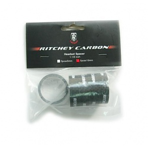 Ritchey Headset carbon spacer 10mm 1 1-8inch 5pcs