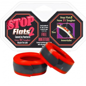 STOP FLATS 2 RED 700c x 28-35