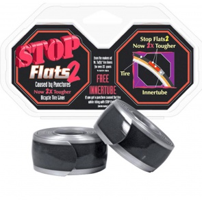 STOP FLATS 2 SILVER 26 x1.5-1.95""