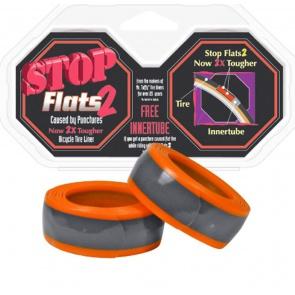 STOP FLATS 2 ORANGE 700c x 23-25