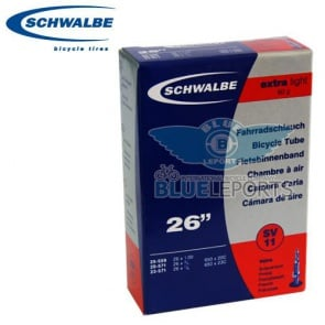 """Schwalbe SV11 Bicycle Tire Inner Tube 26""""x1.00 650C"""