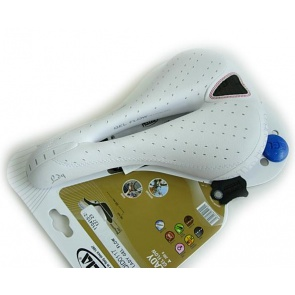 Selle Italia Lady Gel Flow trans am Bicycle Seat White