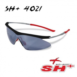 SH+ cycling sun glasses 4021 black soft goggle