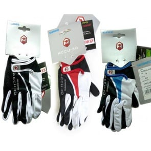 Shimano Accu-3D Long Finger Gloves 3colors