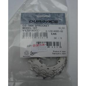 Shimano CS-7800 Sprocket Wheel 14T Y1Z81400D