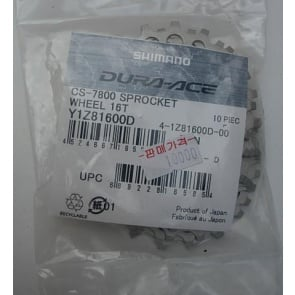 Shimano CS-7800 Sprocket Wheel 16T Y1Z81600D