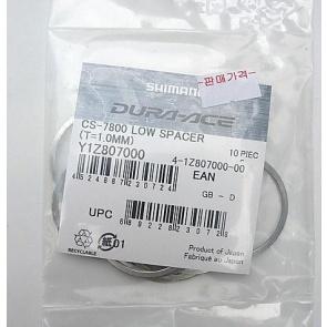 Shimano CS-7800 Sprocket Wheel spacer Y1Z807000