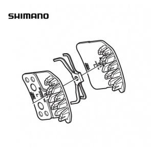 Shimano Disc Brake Pads BR-M820 Resin H01A Y8VT98010