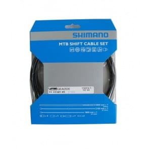 Shimano PTFE MTB shifter derailleur cable set Y60098019