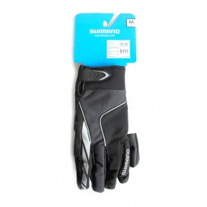 Shimano Winter Cycling Gloves bicycle bike Black
