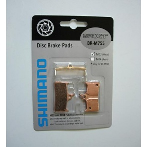 Shimano XT M755 M756 M03 Resin Disc Brake Pads Y8B298060