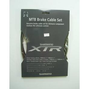 Shimano XTR Bicycle Brake Cable Set Black