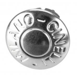 Cinelli Milano Anodized Handlebar Plugs - Silver