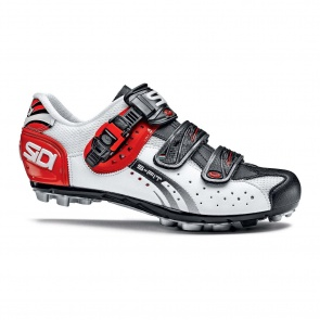 Sidi Eagle5 Fit MTB cycling shoes White Black Red