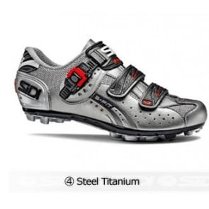 Sidi Eagle5 Fit MTB cycling shoes Steel Titanium