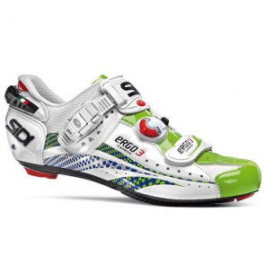 SIDI Ergo3 Carbon Road Bike Shoes Liquigas Limited Edition