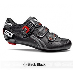 Sidi Genius5 Fit Road Bike Cycling Shoes Black black