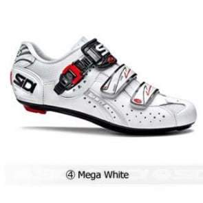 Sidi Genius5 Fit Road Bike Cycling Shoes Mega White